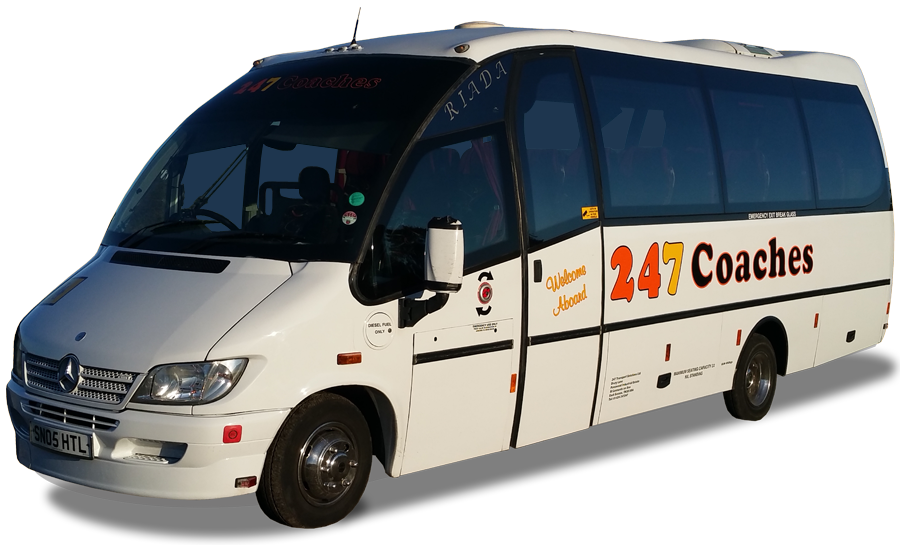 247 Coaches - 29 Seater Coaches for Hire